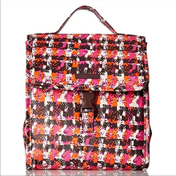 Vera Bradley Handbags - Vera Bradley Lunch Sack - Houndstooth Tweed